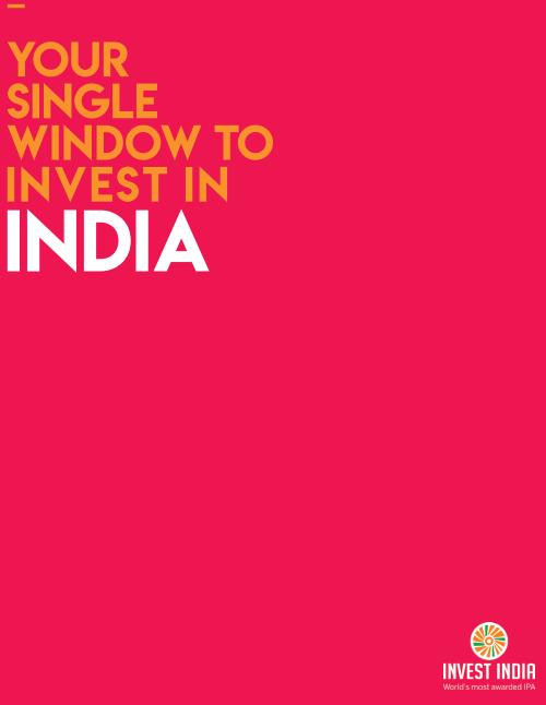 Invest India Brochure