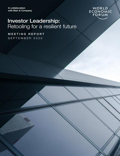 World Economic Forum Investor Leadership