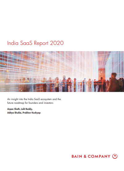 India SaaS Report 2020