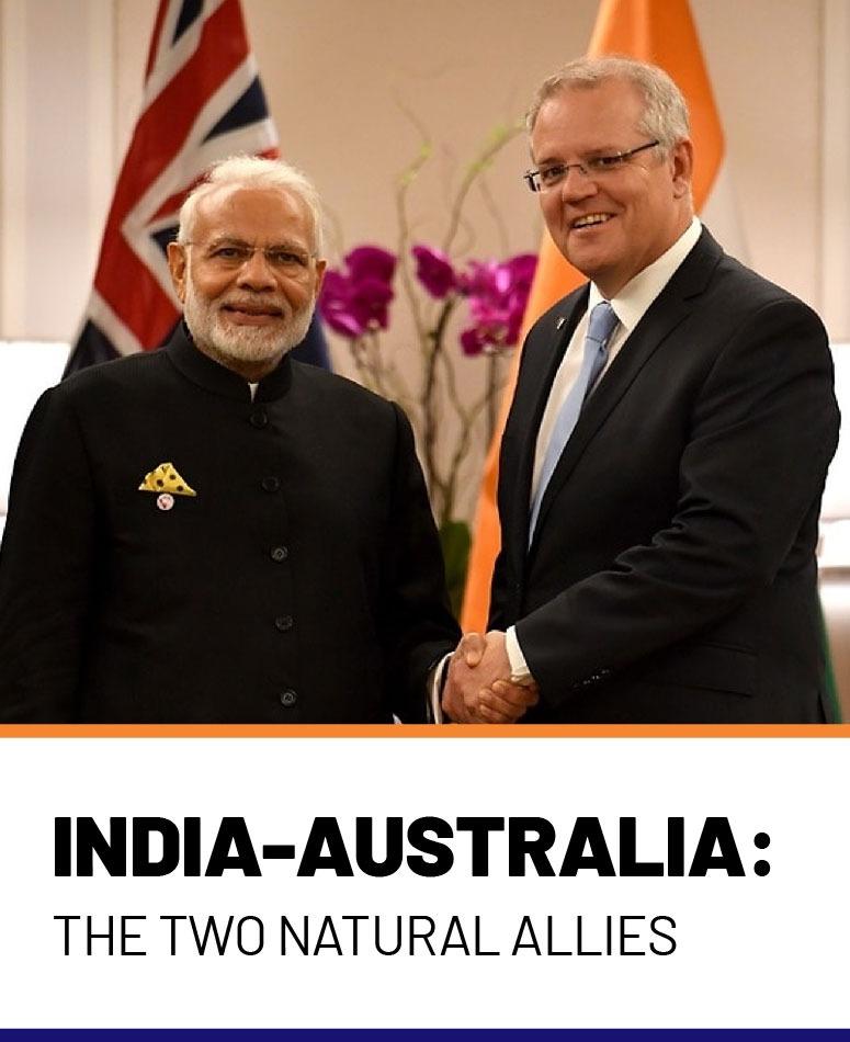 Отношения с Индией и Австралией