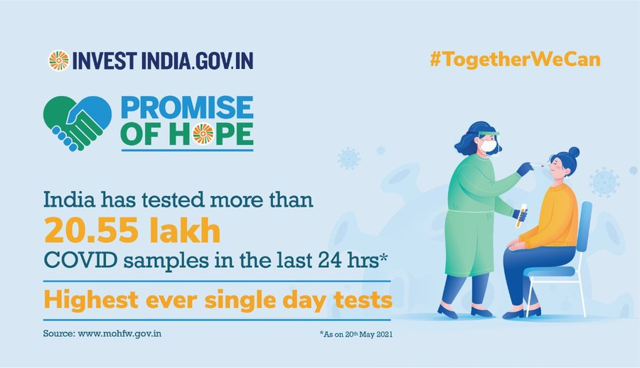 New India is ramping up its diagnostic facilities to ensure timely testing and treatment amid the COVID19 Pandemic!