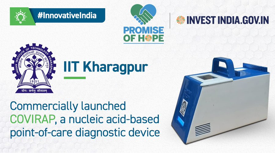 Learn more about IIT Kharagpur's flagship healthcare product, COVIRAP, and how it can help in New India's battle against COVID-19