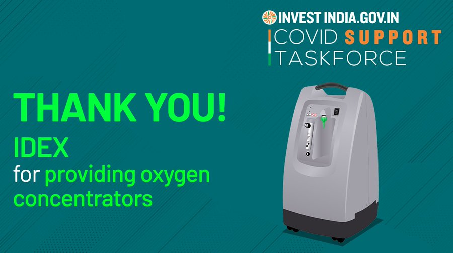 IDEXCorp strengthening India's fight against #COVID19 by providing critical care equipment!