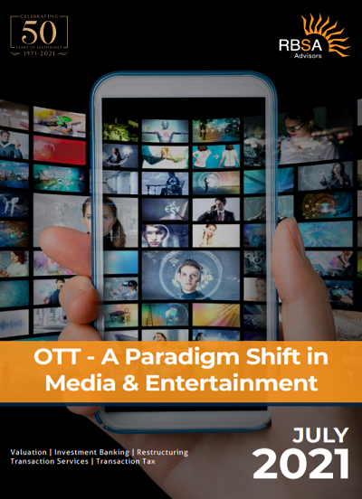 OTT - A Paradigm Shift in Media & Entertainment