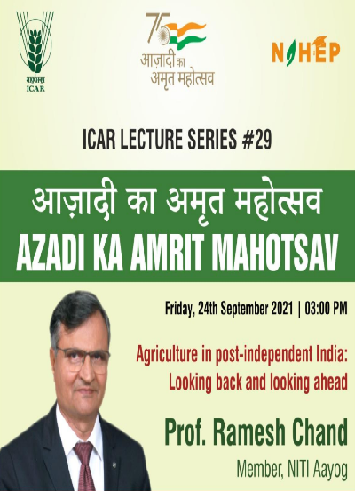 Agriculture in Post-Independent India