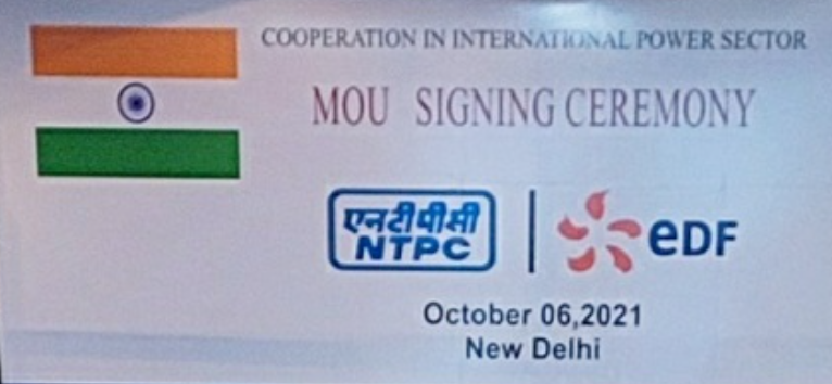 NTPC in pact with Electricite de France S.A