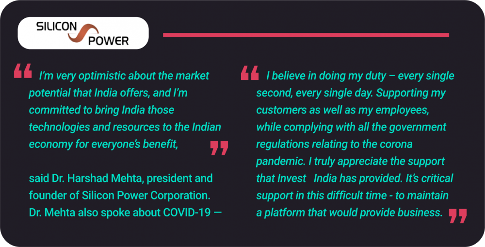 Silicon Power Review on ESDM Sector in India