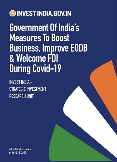Government of India's Measures to Boost Business