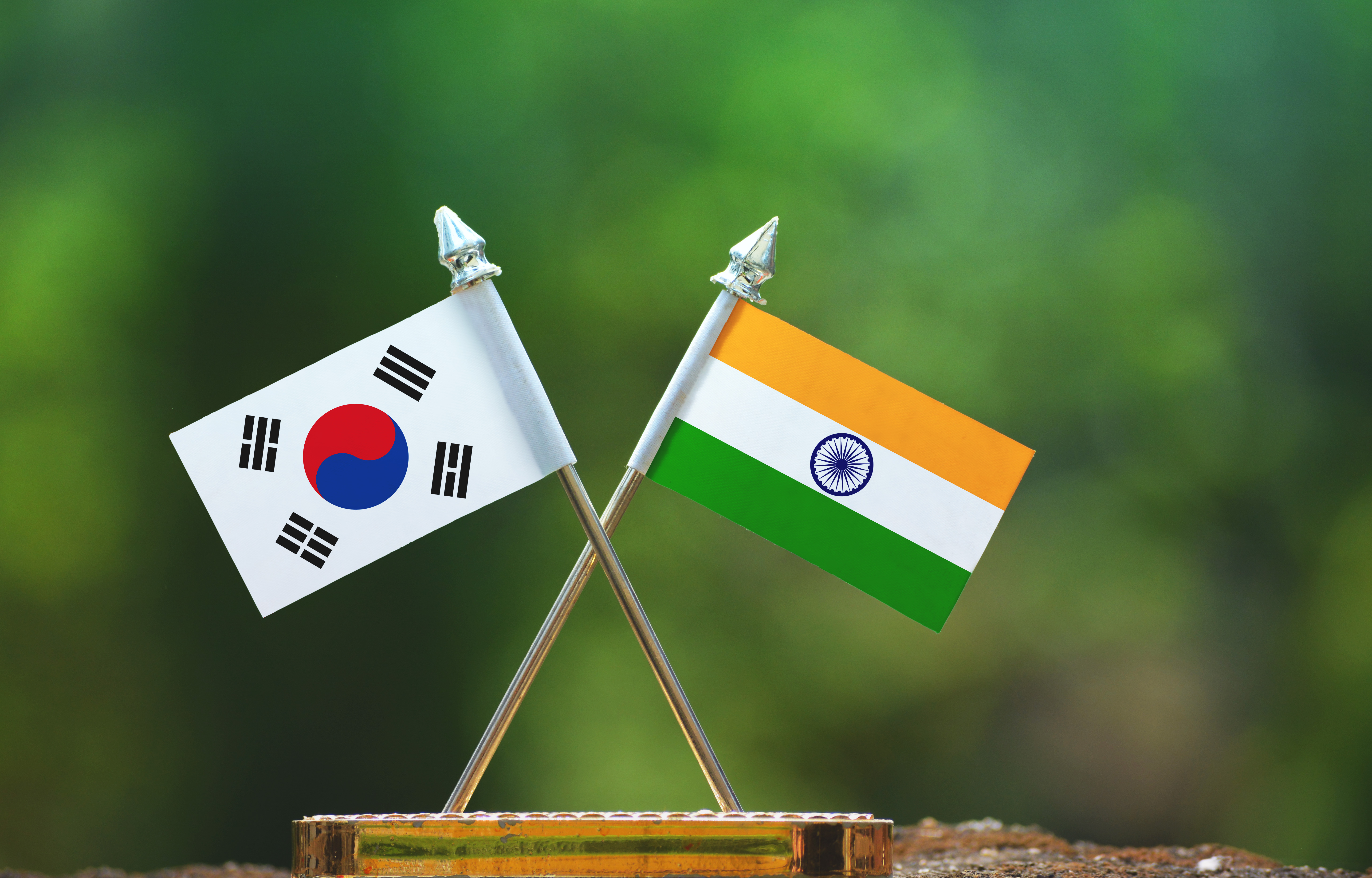Korea India business partnership