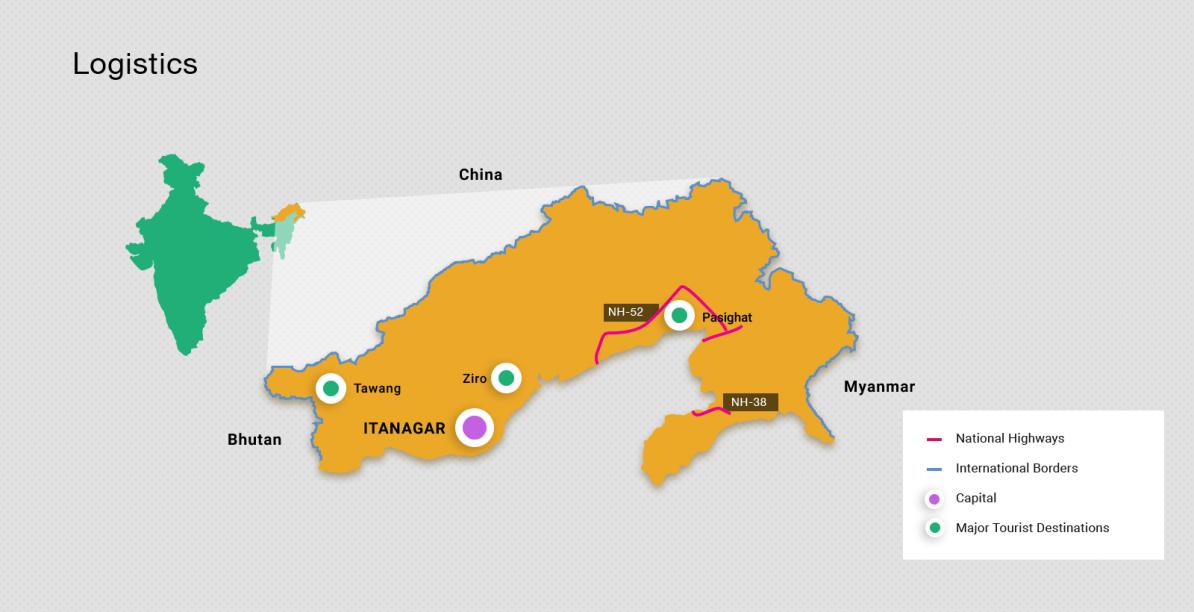Geschäftsmöglichkeiten in Arunachal Pradesh