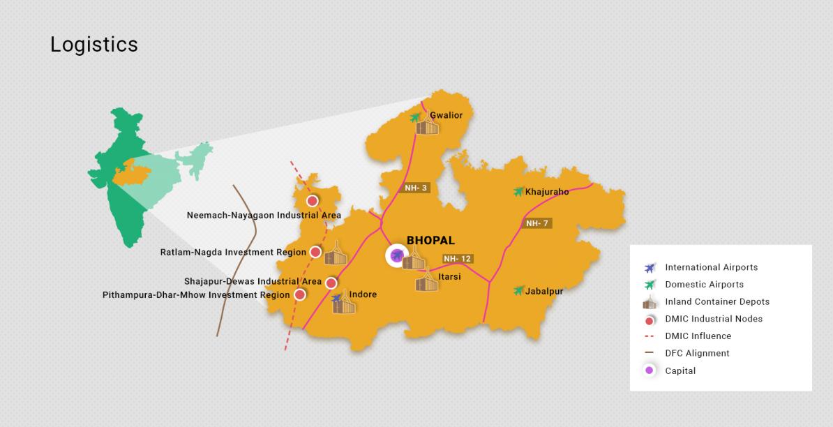 マディヤプラデーシュ州について