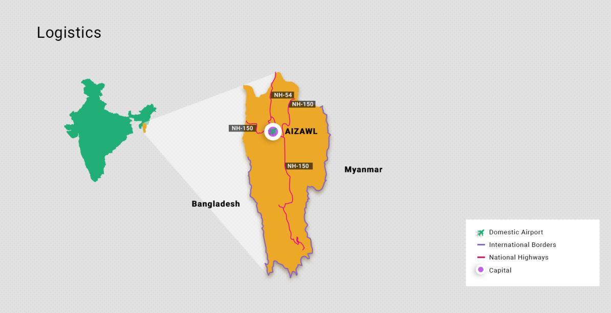 Información sobre Mizoram