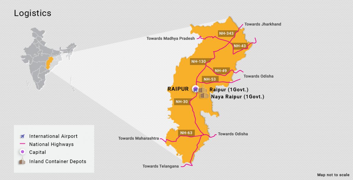 Novas oportunidades de negócios em Chhattisgarh