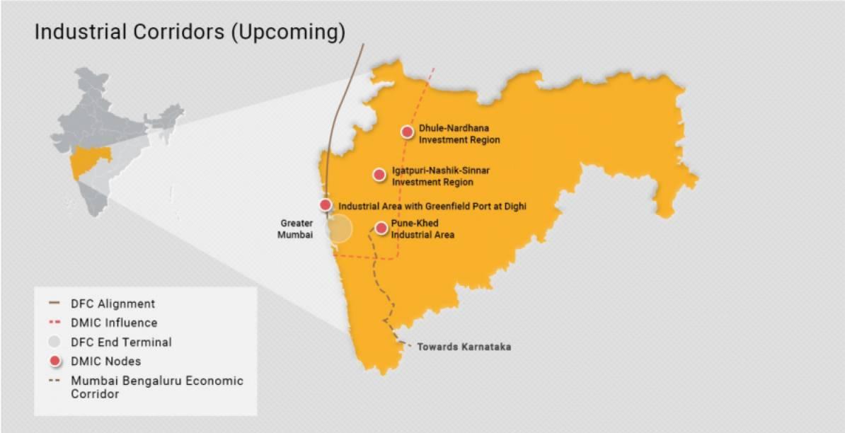 Próximos projetos em Maharashtra