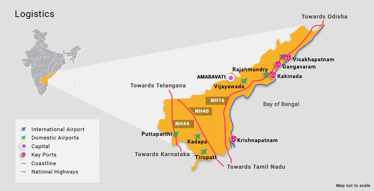 アーンドラプラデーシュ州について
