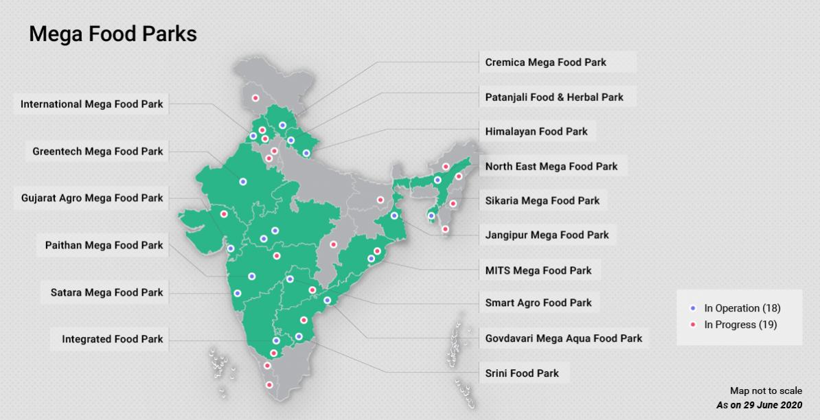 印度的大型美食公园