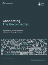 Connecting the Unconnected: Approaches for Getting Households to Connect to Sewerage Networks