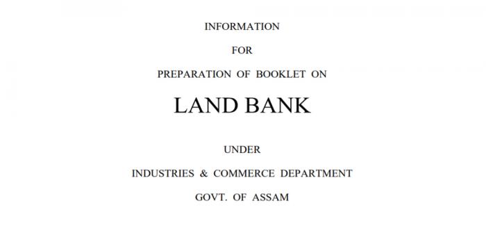 Land Bank Assam