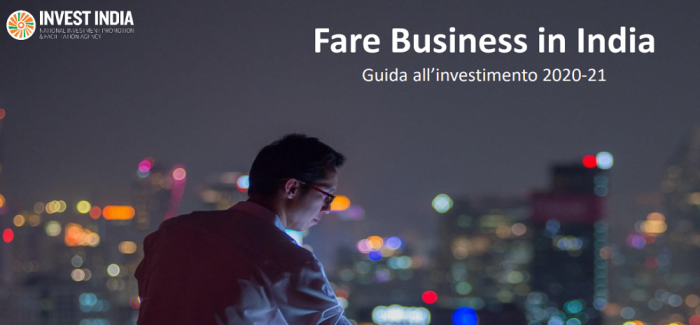 Fare Business in India: Guida all'investimento 2020-21