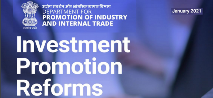 Investment Promotion Reforms in India
