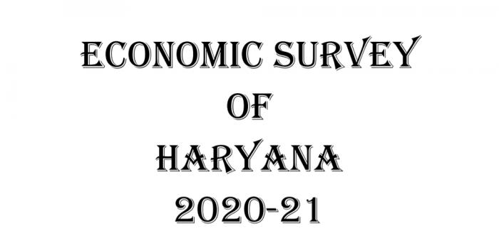 Economic Survey of Haryana 2020-21