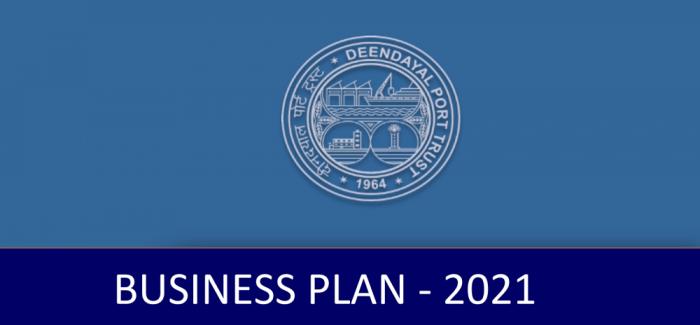 Deendayal Port Trust Business Plan 2021
