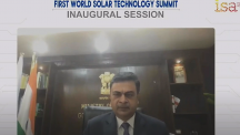 Union Minister R. K. Singh addresses First World Solar Technology Summit