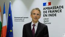 H.E. Mr Emmanuel Lenain, Ambassador of France to India, French Nuclear Days India 2020
