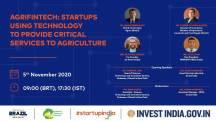 India - Brazil FinTech Webinar Series: Agri FinTech