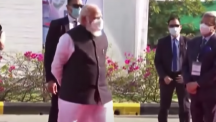 PM Modi visits Zydus Biotech Park to review COVID-19 vaccine development in Ahmedabad, Gujarat