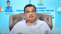 Shri Nitin Gadkari, Union Minister for Roads, Transport and Highways and MSMEs lays the foundation stone laying program of Karnataka NH projects