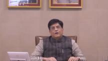 Hon'ble CIM Shri Piyush Goyal addressing the 1st National Conference of States on Logistics