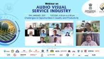 Udyog Manthan | Industry-led expert panel discussions on Audio Visual services Industry