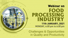 Udyog Manthan | Industry-led expert panel discussions on Food Processing service Industry