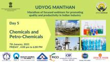 Udyog Manthan | Industry-led expert panel discussions on Chemicals and Petro-Chemicals Industry