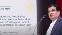 Nitin Gadkari - Webinar Road Safety