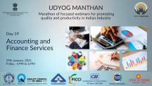 Udyog Manthan | Industry-led expert panel discussions on Accounting & Finance Services