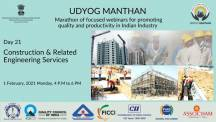 Udyog Manthan | Industry-led expert panel discussions on Construction & Related Engineering Services
