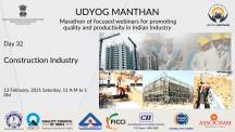 Udyog Manthan | Industry-led expert panel discussions on Construction