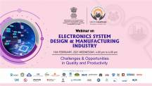 Udyog Manthan | Industry-led expert panel discussions on Electronics System Design & Manufacturing