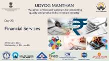 Udyog Manthan | Industry-led expert panel discussions on Financial Services