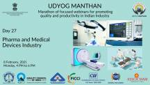 Udyog Manthan | Industry-led expert panel discussions on Pharma and Medical Devices