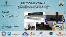 Udyog Manthan | Industry-led expert panel discussions on Set Top Boxes