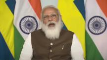 PM Modi realiza uma cúpula virtual com PM Löfven da Suécia