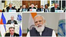 PM Modi addresses the plenary session of 21st Meeting of SCO Council of Heads of State in Tajikistan