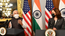 Prime Minister Narendra Modi meets Vice President Harris on 3-day visit to US
