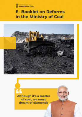 E- Booklet on Reforms in the Ministry of Coal