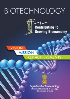 Biotechnology Vision Mission Key Achievement Book