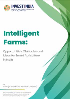 Intelligent Farms: Opportunities, Obstacles and Ideas for Smart Agriculture in India