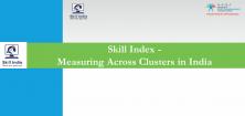 Indice de compétence - Mesure à travers les grappes en Inde